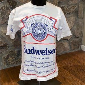 Vintage 1991 Budweiser  king of Beers T-shirt. L